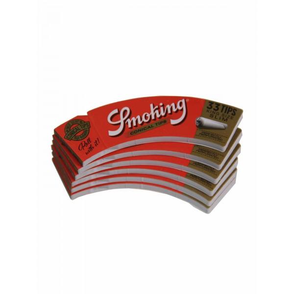 Smoking konische Tips King Size Slim Heftchen einzeln