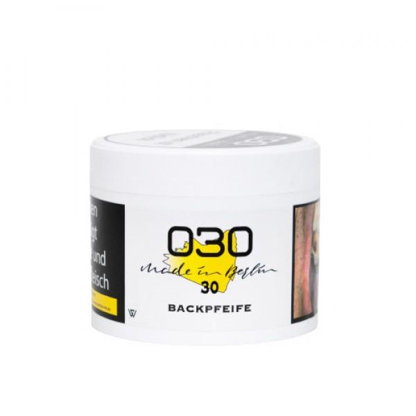"Whitecloud 030 ""Backpfeife 30"" Shishatabak 200 g Dose"