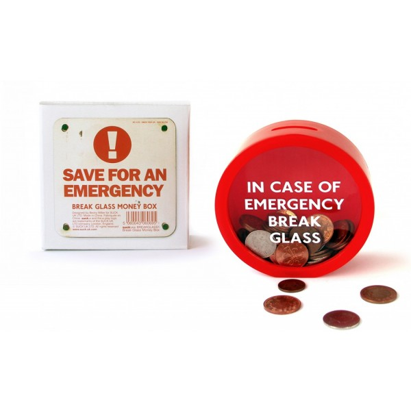 Emergency Money Box - Spardose (Suck UK)