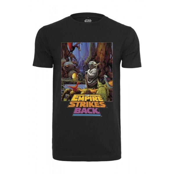 Merchcode Star Wars Yoda Poster Tee