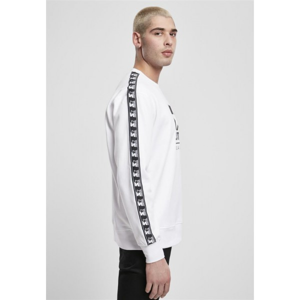 Starter Logo Taped Crewneck weiß