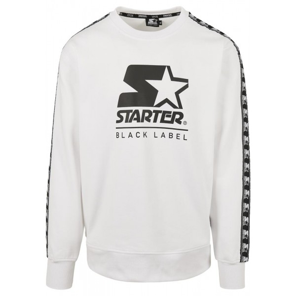 Starter Logo Taped Hoody weiß