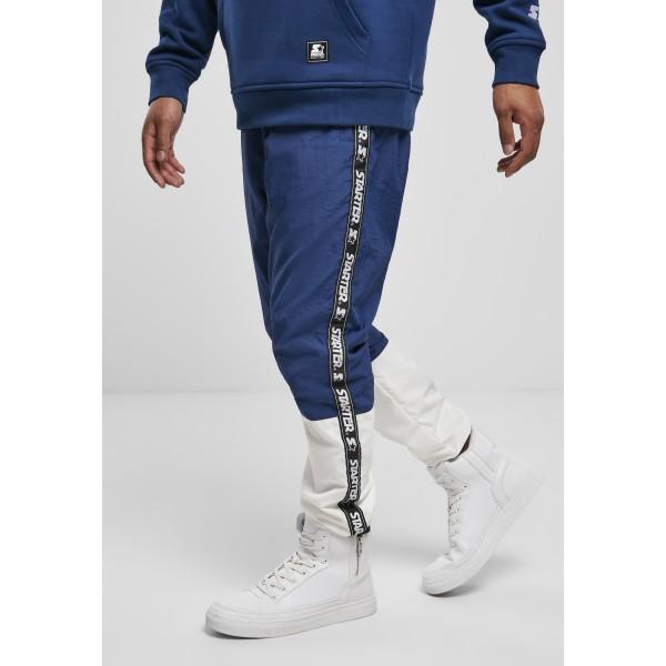 Starter Two Toned Jogging Pants dunkelblau/weiß