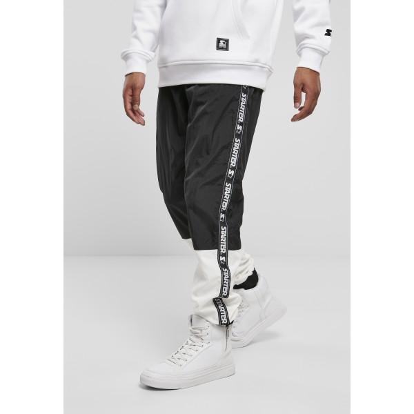 Starter Two Toned Jogging Pants schwarz/weiß