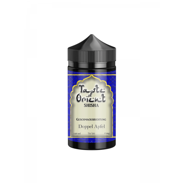 Taste of Orient - Doppel Apfel 0 mg / 120 ml E-Shisha Liquid