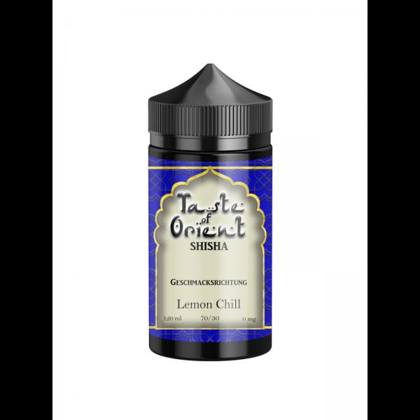 Taste of Orient - Lemon Chill 0 mg / 120 ml E-Shisha Liquid