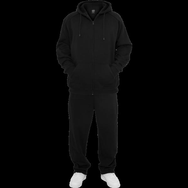 URBAN CLASSICS Blank Suit Jogging-Anzug schwarz