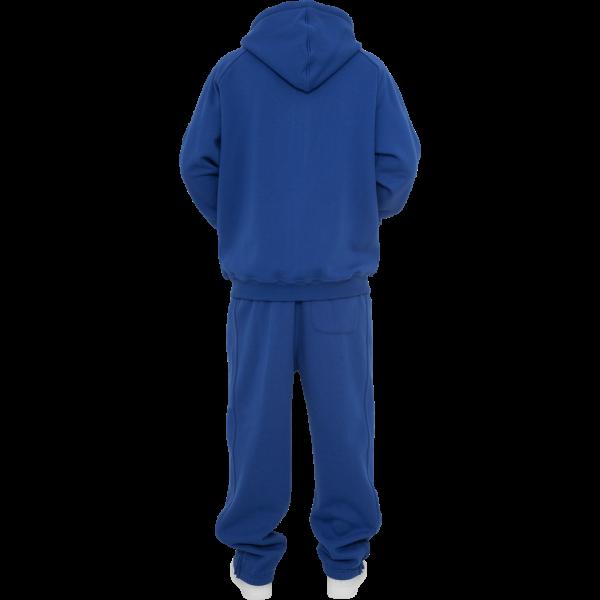 URBAN CLASSICS Blank Suit Jogging-Anzug royal-blau