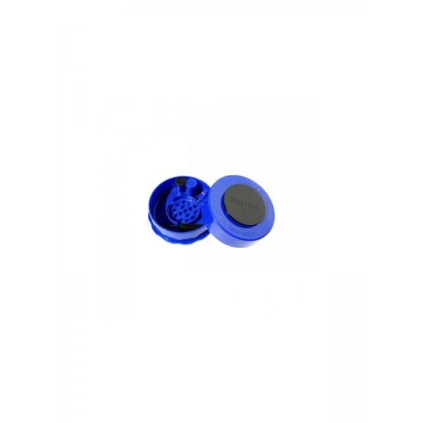 Grinder + Vakuum-Container 0,07 Liter blau offen