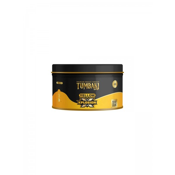 Tumbaki Yellow Xplosion Shisha Tabak 200g Packung