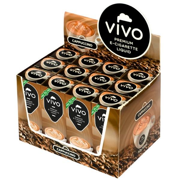 VIVO E-Liquid Cappuccino 10 ml (ohne Nikotin)