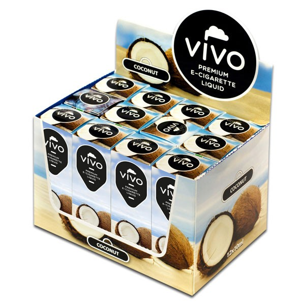 VIVO E-Liquid Coconut 10 ml (18 mg Nikotin)