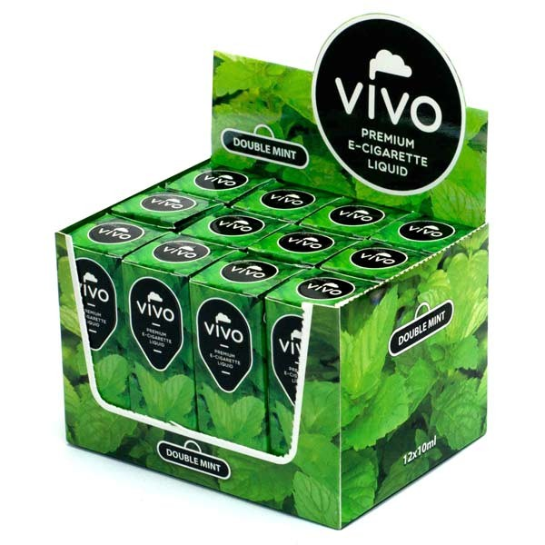 VIVO E-Liquid Double Mint 10 ml (12 mg Nikotin)