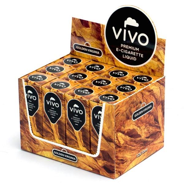 VIVO E-Liquid Golden Virginia 10 ml (12 mg Nikotin)