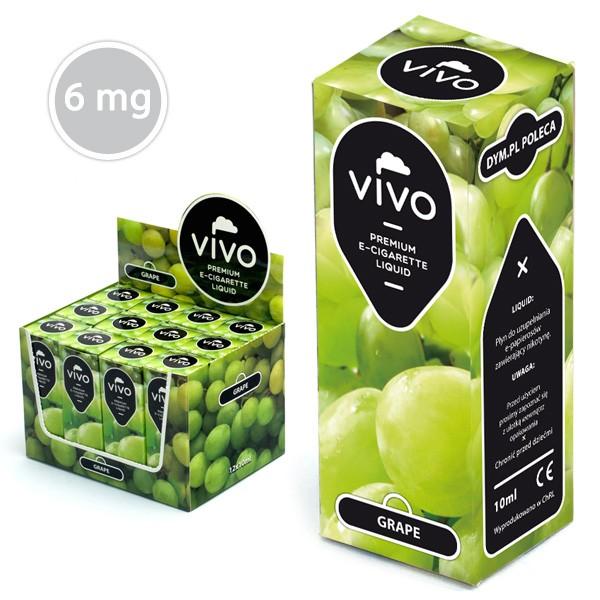 VIVO E-Liquid Grape 10 ml (6 mg Nikotin)