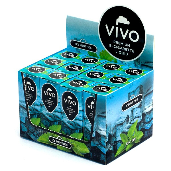 VIVO E-Liquid Ice Menthol 10 ml (6 mg Nikotin)