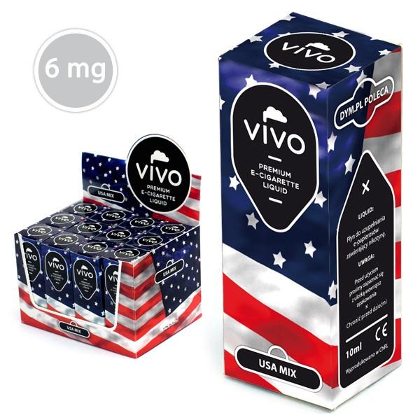 VIVO E-Liquid USA MIX 10 ml (6 mg Nikotin)