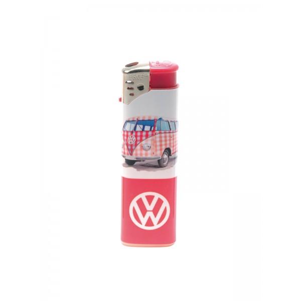 Feuerzeug Volkswagen rosa