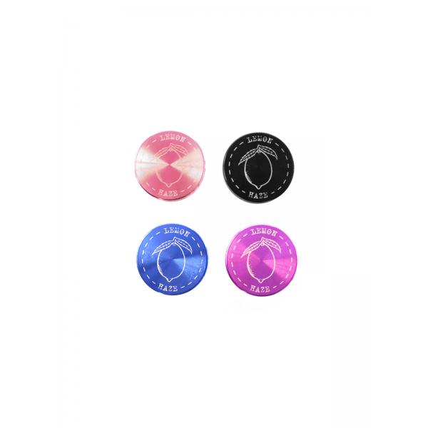 """Weed Star """"Lemon Haze Color-Crush"""" Grinder, 4-teilig pink"""