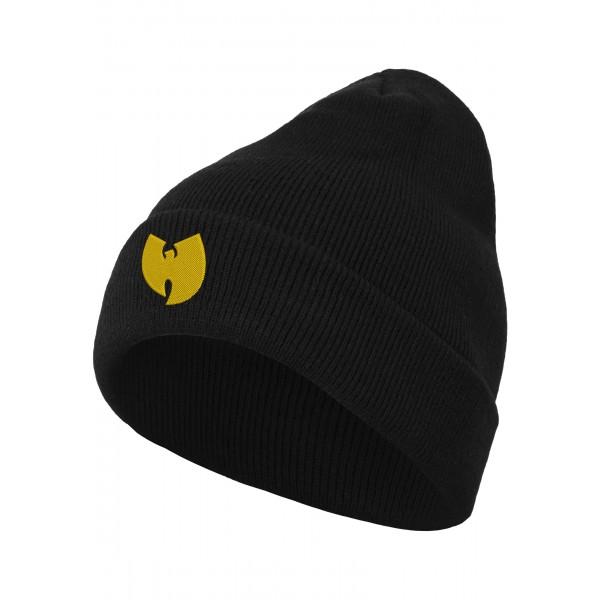 Wu-Tang Logo Beanie schwarz