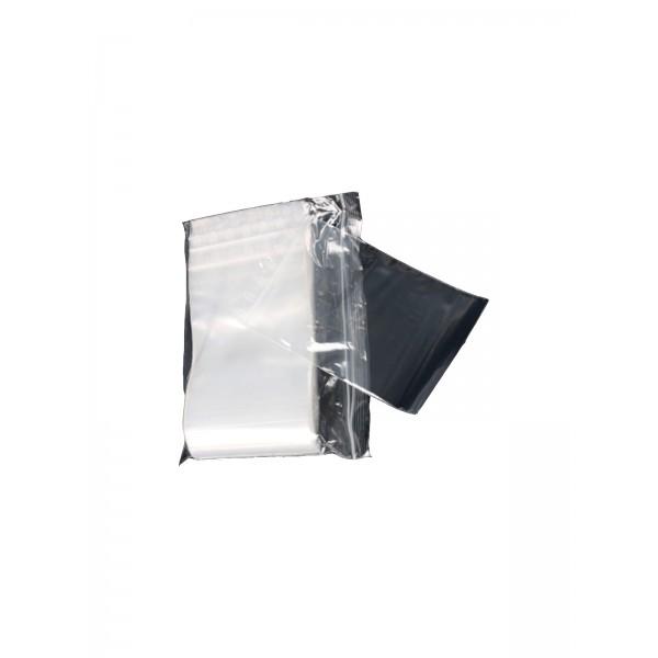 Zipperbags 70 x 100 mm 50µ clear einzeln