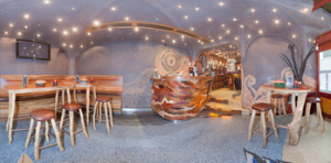 Innenraum Abraxas Amsterdam Coffeeshop