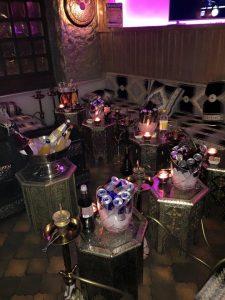 Orientalische Möbel Shisha Club Alkohol feiern Bar