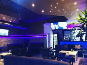 Shisha Bar Lounge Fernseher Sessel München Eleven #11