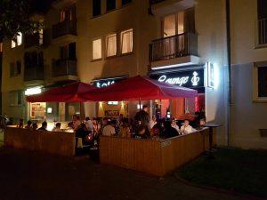 Muri´s Lounge Shisha Bar Terrasse Eingang