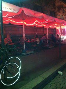 Außen Terrasse Shisha Bar Sesamé